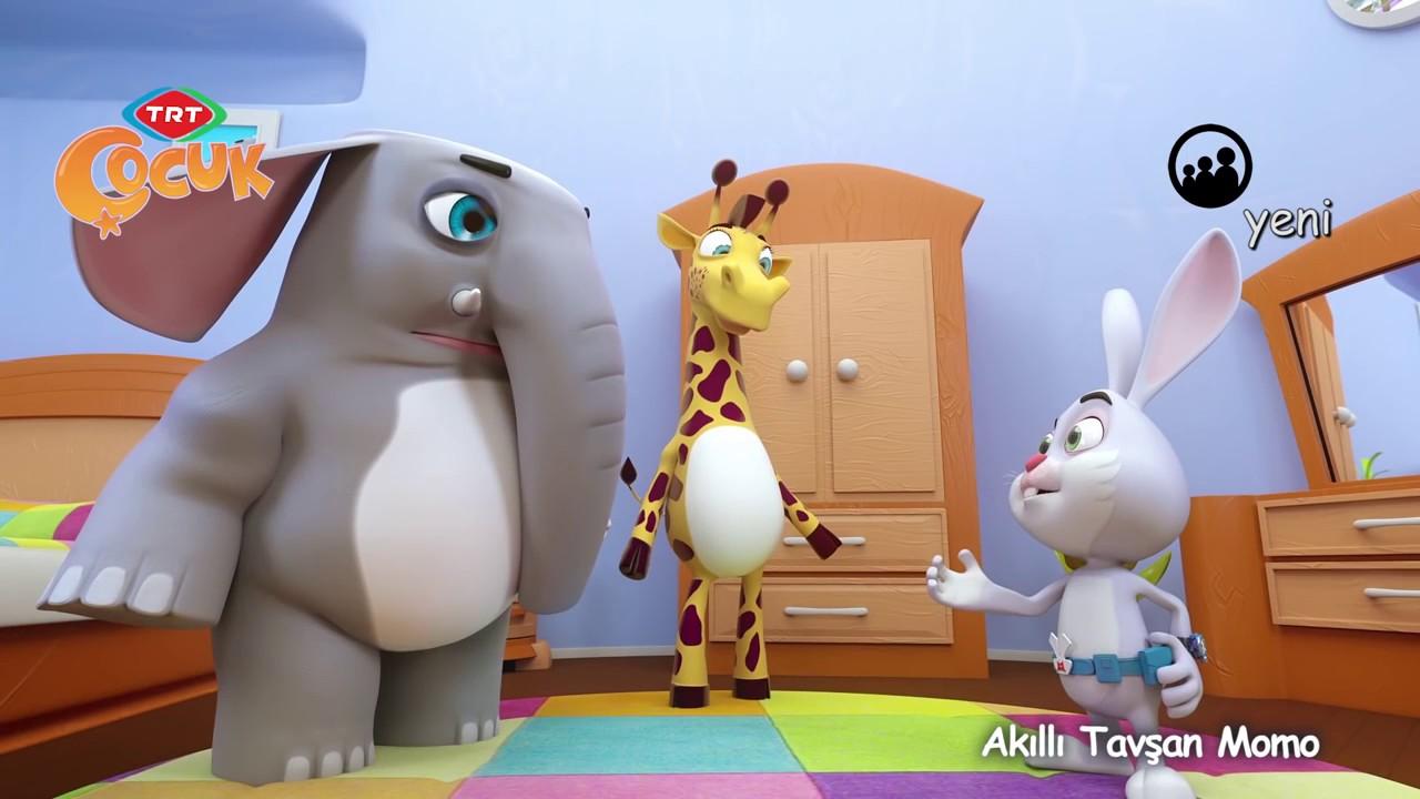 TRT Çocuk - Akıllı Tavşan Momo- 6. Bölüm